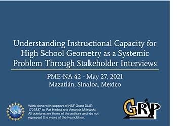 GRIP Presents Research at PMENA